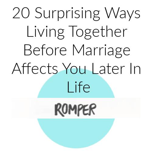 20 Surprising Ways Living Together...